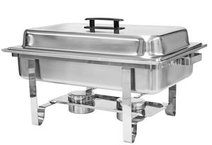 8-Qt. Rectangular Stainless Steel Chafing Dish