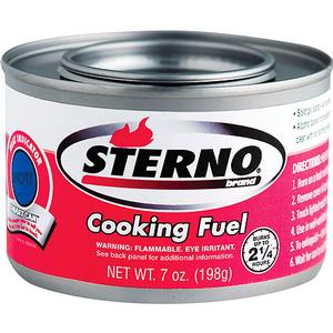 Sterno (7 oz. Can) for  Chafing Dishes