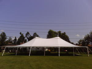 40 x 80 Pole Tent & ABC: Hardware Rental Special Events: Tents Tables Chairs ...