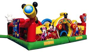 Mickey Playland Commercial Inflatable Bouncer