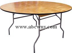 60' Round Table  (Seats 8-10)