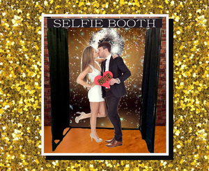 Selfie Booth Photo Backdrop(s) with Props