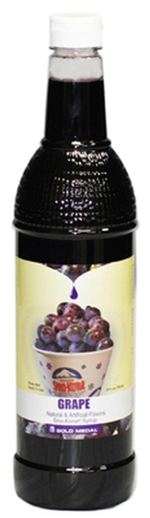 Sno-Cone Syrup Grape 25 oz. (Makes 15-20 Cups)