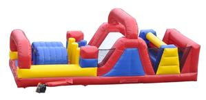 30 Foot Obstacle Course  Commercial Inflatable DY-OC-30FOOT-31D