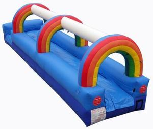 Rainbow Single Lane Slip-N-Slide