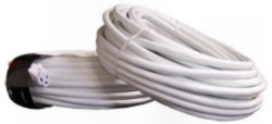 100' White Extension Cord
