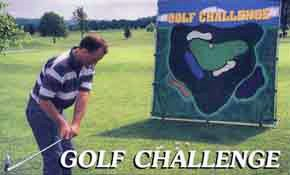 Golf Challenge Chipping