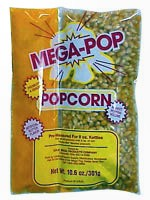 Popcorn, Single 6 oz. Corn/Oil Packet (Each Packet makes (6) 1oz. servings)